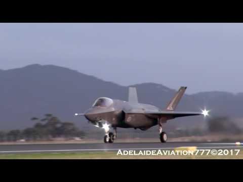 RAAF F-35A JSF's depart for Amberley!...