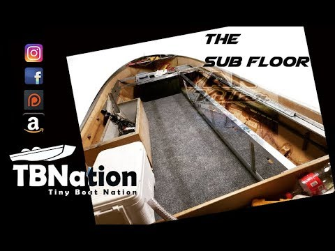 Building a Sub floor for your boat | TBNation.
