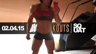 02.04.15 | DLB EXPLAINS HER SQUAT | WHG WORKOUTS