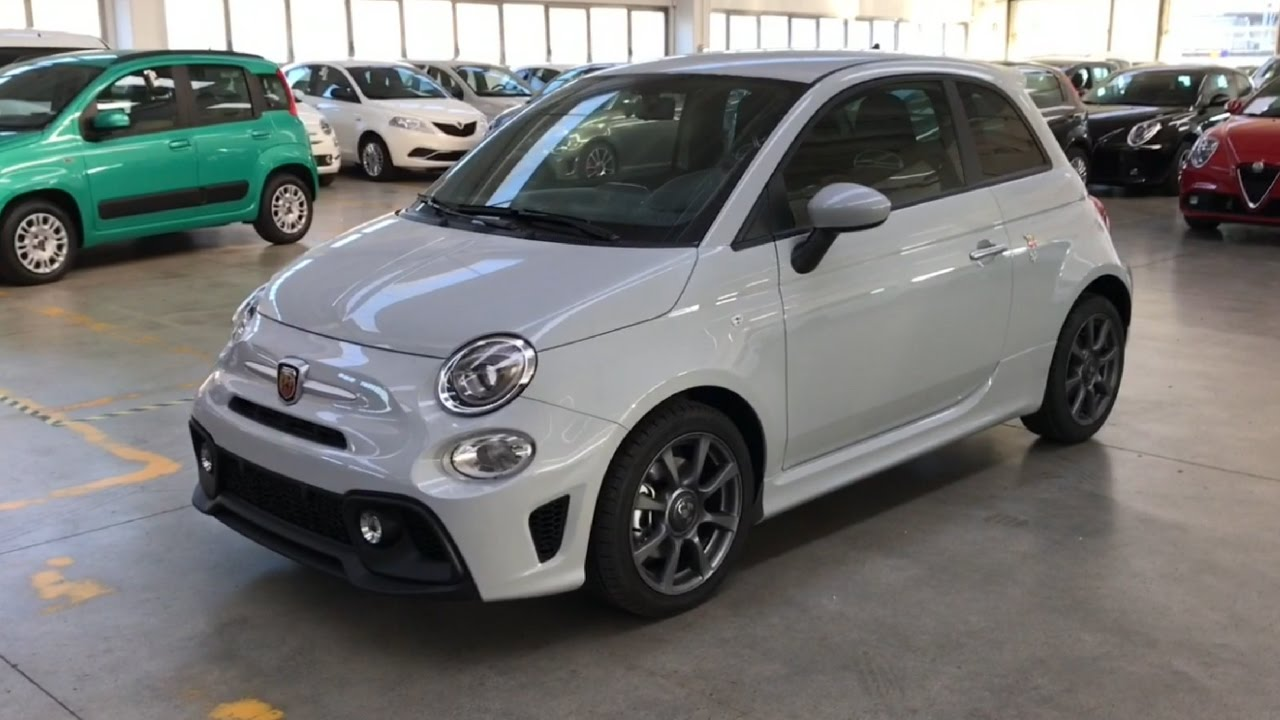 2016 Fiat 500 Abarth >> Abarth 595 1.4 Turbo T-Jet 145 CV - km0 - YouTube