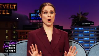 James asks evan rachel wood about her trips to rage rooms, and how cathartic it can be break things. after a basic mental welfare check invites ...