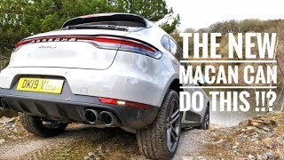 Porsche Macan S actually did THIS off road !!