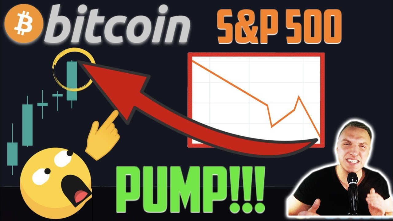 CRAZY!!! BITCOIN PUMP!!!! IS BTC DECOUPLING FROM THE STOCK MARKETS RIGHT NOW!!?