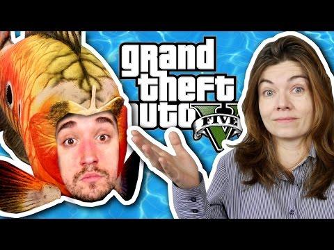 Veja o video – VIRANDO PEIXE! – GTA V no PS4 (Parte 05).