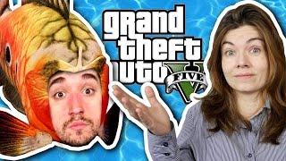 VIRANDO PEIXE! - GTA V no PS4 (Parte 05).