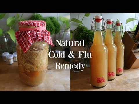 FIRE CIDER | Natural cold and flu remedy (recipe)