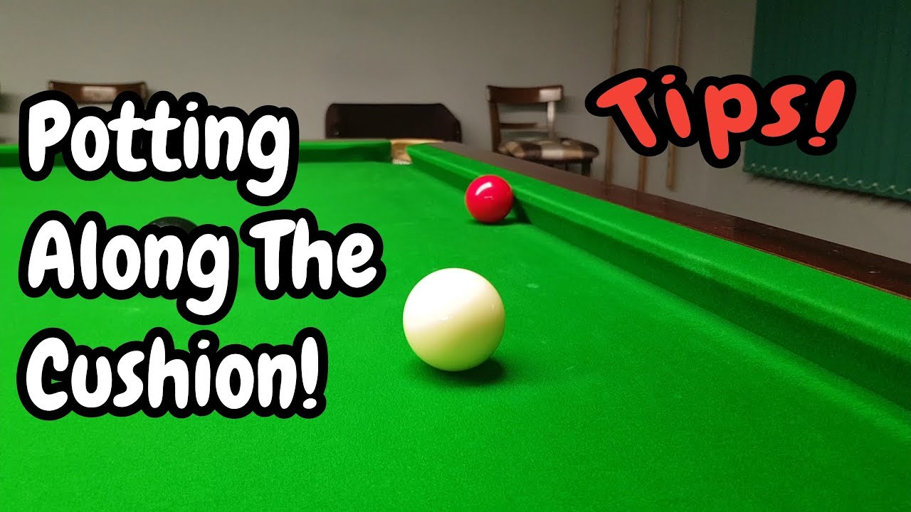 Snooker Potting Along The Cushion - Snooker Lesson