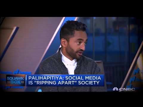 Social media is ripping society apart says former Facebook exec