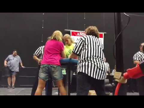 AAA National Armwrestling Championships 2017 Shawna Feist