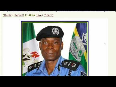 PROFILE OF NEW INSPECTOR GENERAL OF POLICE MOHAMMED ADAMU
