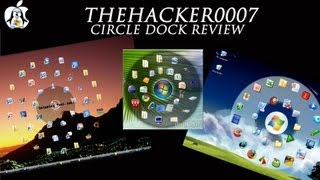 Circle Dock - Desktop Application Launcher for Windows