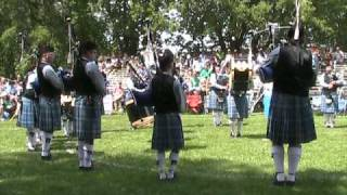 St Andrew's Society Of Winnipeg Pipe Band Medley 20090801