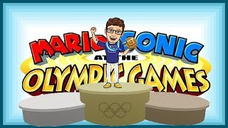 LUIGI STEPS UP!!!   Mario and Sonic At the Olympic Games Funny Moments