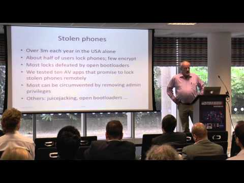 Bring Your Own Device: Boon, Bane or Market Failure?  Ross Anderson