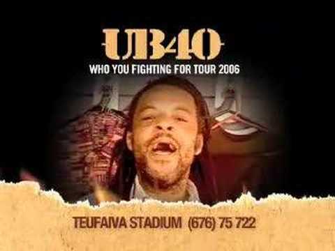 UB40 - Live in Tonga - ad