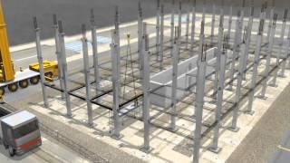 VERSIONE 2013 - Come funziona NPS®: sistema misto trave, pilastro e solaio di Tecnostrutture