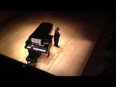 "Lawrence Brownlee @ Carnegie Hall, March 28, 2013, Encore (""Il mio tesoro"" from ""Don Giovanni"")"