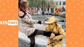 Funny videos 2019 ✦ Funny pranks try not to laugh challenge P61
