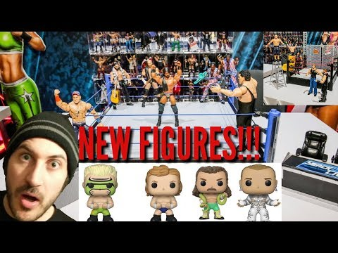 NEW WWE SMACKDOWN LIVE AUTHENTIC SCALE RING & LOADS OF NEW FIGURE ANNOUNCEMENTS!!! Toy Fair 2018