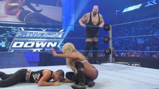 SmackDown: Big Show & Kelly Kelly vs. Luke Gallows & Serena