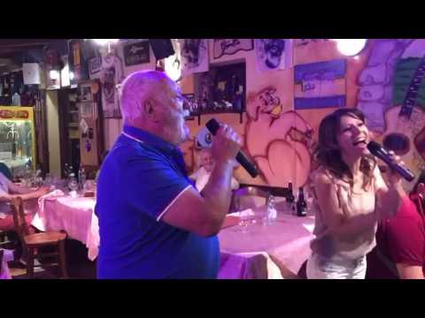 The Prayer karaoke Locanda Tavolo Matto