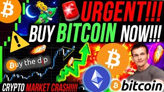 URGENT!!🚨 BUY BITCOIN RIGHT NOW!!! CRYPTO MARKET CRASH!!! ETHEREUM IS TOO CHEAP!!! BITCOIN NEWS!!!