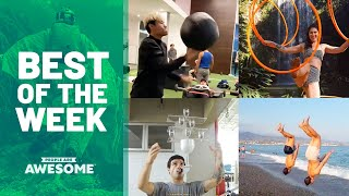 Medicine Ball Workouts & Hula Hoop Tricks | Best of the Week Video