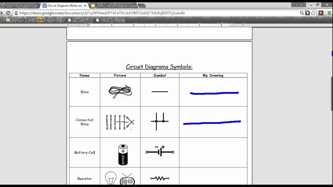 latex circuit diagrams
