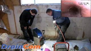 Interior Basement Waterproofing (Draincom.com)