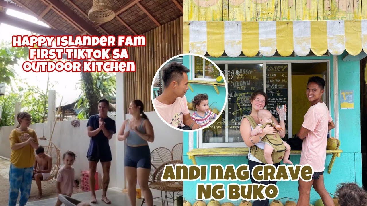 HAPPY ISLANDERS FAM FIRST TIKTOK SA KANILANG OUTDOR KITCHEN AT ANDI NAGCRAVE SA BUKO