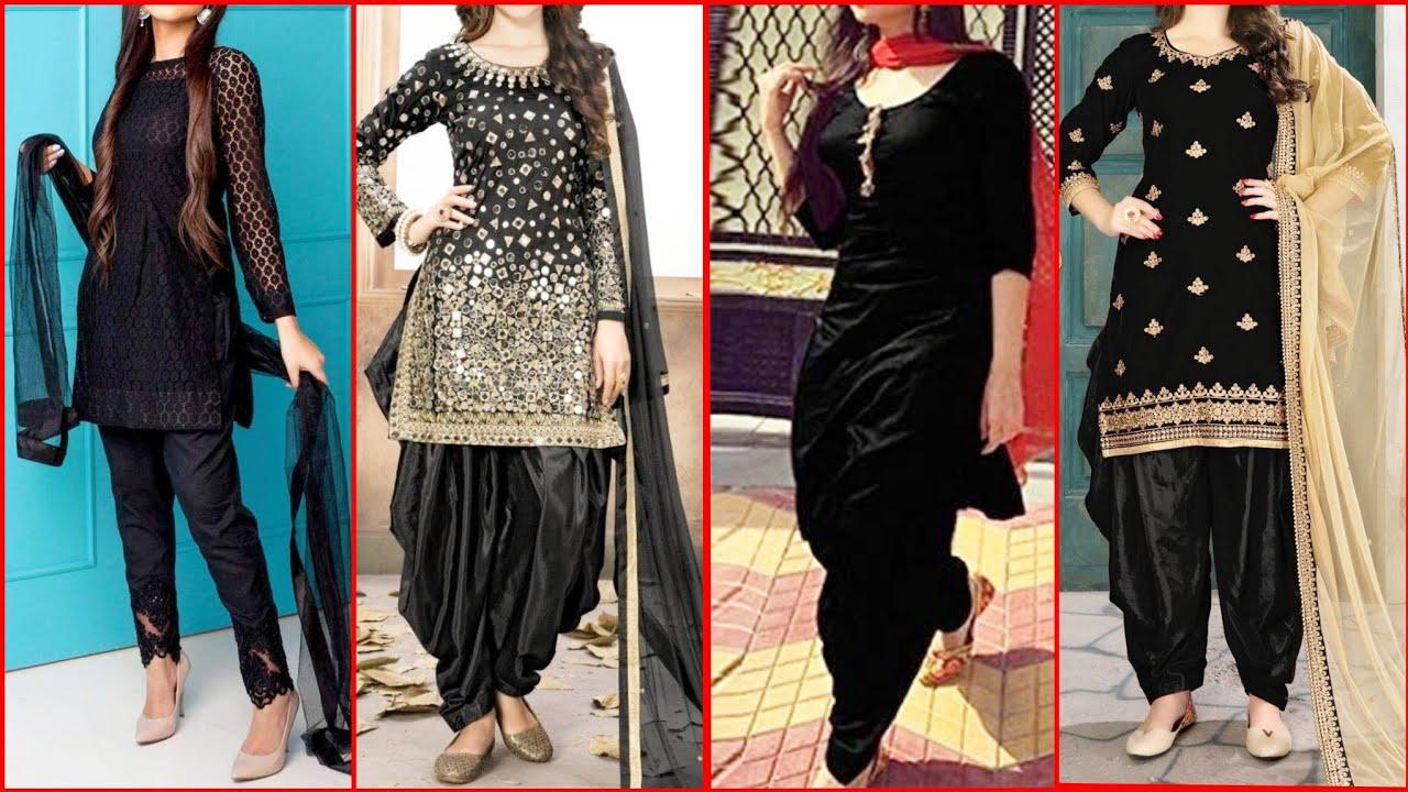 Black Dress Design 2020 Latest Collection Black Dresses For Girl 2020 Ideas Pakistani Black Dresses Youtube