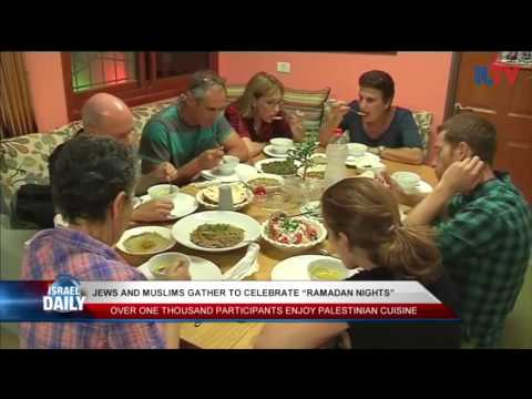 Jews and Muslims Gather Together for Ramadan Nights