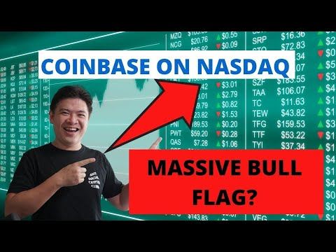 Coinbase Nasdaq (COIN) listing TODAY - MASSIVE BULL flag for crypto