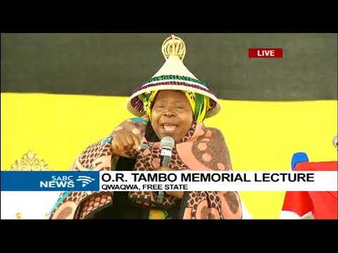 Dr Dlamini Zuma keynote address at O.R. Tambo Lecture in Qwaqwa