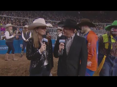 Mutton Bustin' At RodeoHouston On March 6, 2019