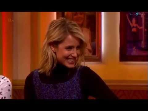Dianna Agron on Paul O' Grady Show - Interview