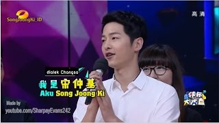 [Sub Indo] Happy Camp 160521 - Song Joong Ki 송중기 (FULL)