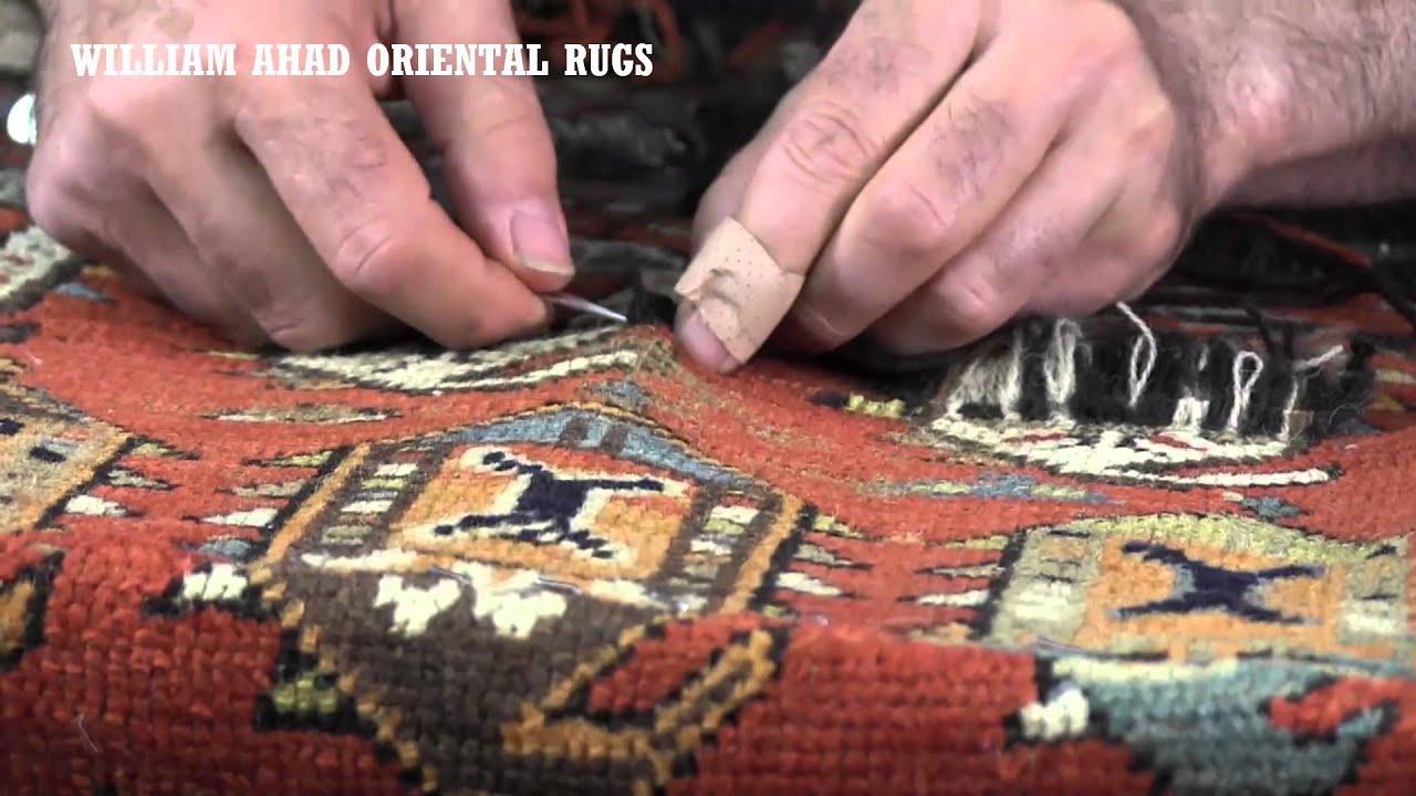 William Ahad Oriental Rugs Repair And Restoration Houston TX