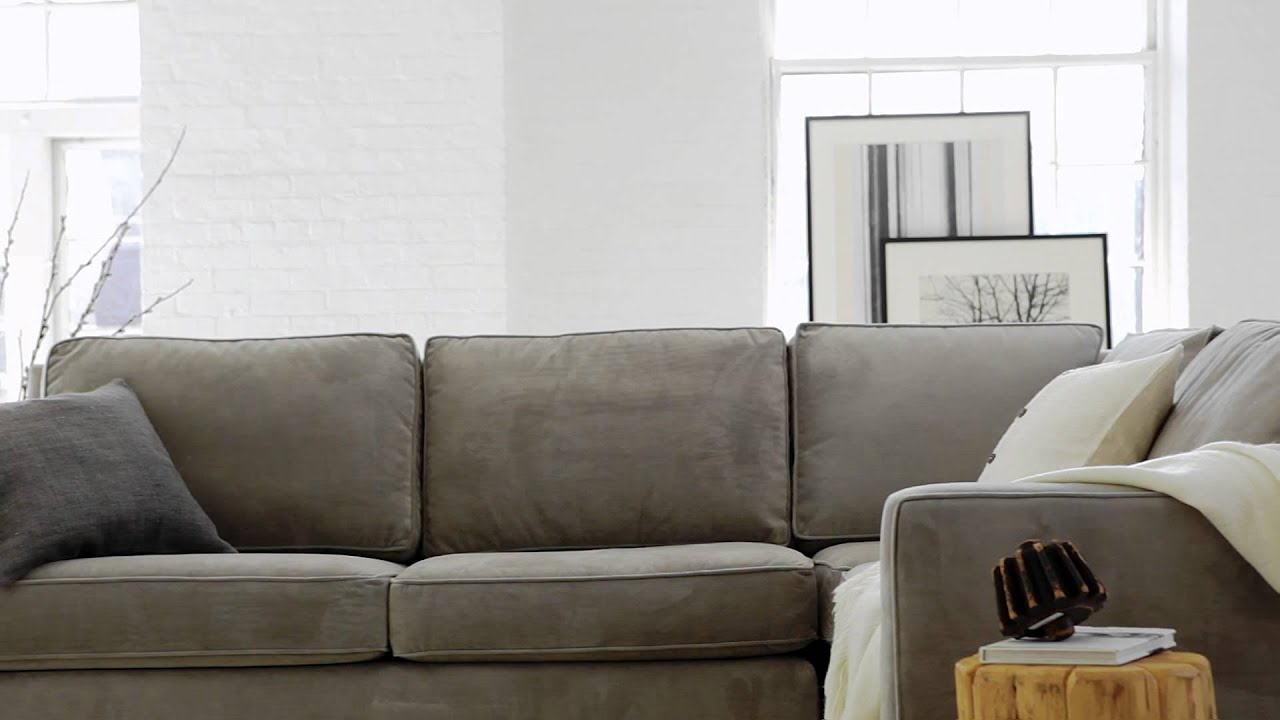 The Henry Collection: Classic, Contemporary Living Room Furniture | West Elm    YouTube