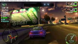 Need for Speed Carbon Own the City PSP - Part 121 - Race #109 - South Side (Circuit)