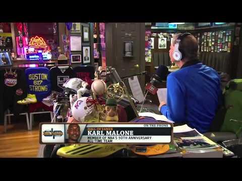 Karl Malone picks his all-time starting five