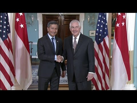 Secretary Tillerson Meets with Singapore Foreign Minister Balakrishnan