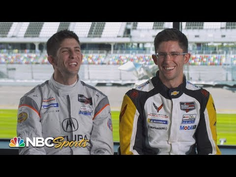 Jordan And Ricky Taylor Critique Each Other's Strengths As Drivers | IMSA | Motorsports On NBC