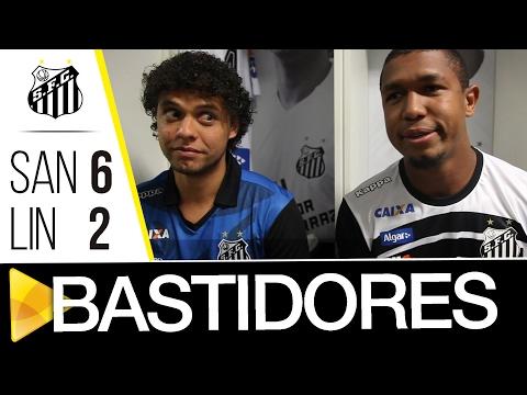 Santos 6 x 2 Linense | BASTIDORES | Paulistão (03/02/17)