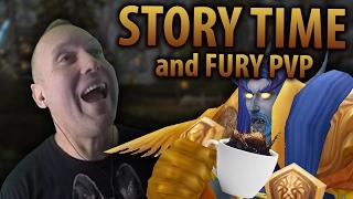 Swifty's Coffee Spill Story & Fury Warrior PvP (Battle for Gilneas) - WoW Legion 7.1.5