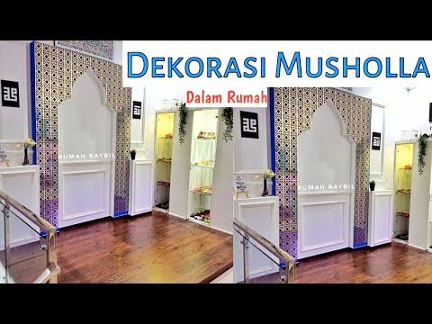 wainscoting-musholla-||-roomtour-rumah-mungil-||-musholla-dalam-rumah-raybil