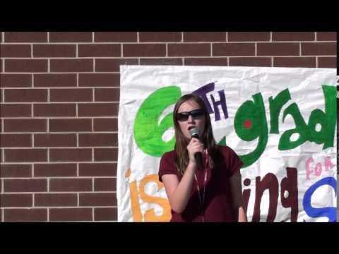Madison Hudgins Oglethorpe Charter School Savannah Georgia National Anthem