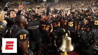 College Football Highlights Arizona State Upsets Michigan State On Last Second FG  ESPN