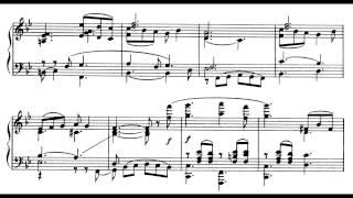 Giacomo Puccini - Foglio d