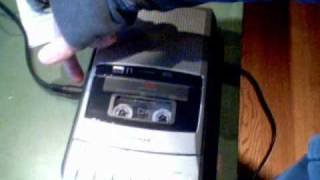 Radioshack CTR-121 AC Bias Cassette Recorder